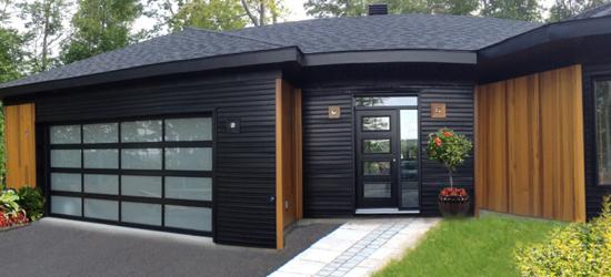 Portes de garage dupuy sherbrooke r sidentiel - Porte de garage industrielle occasion ...